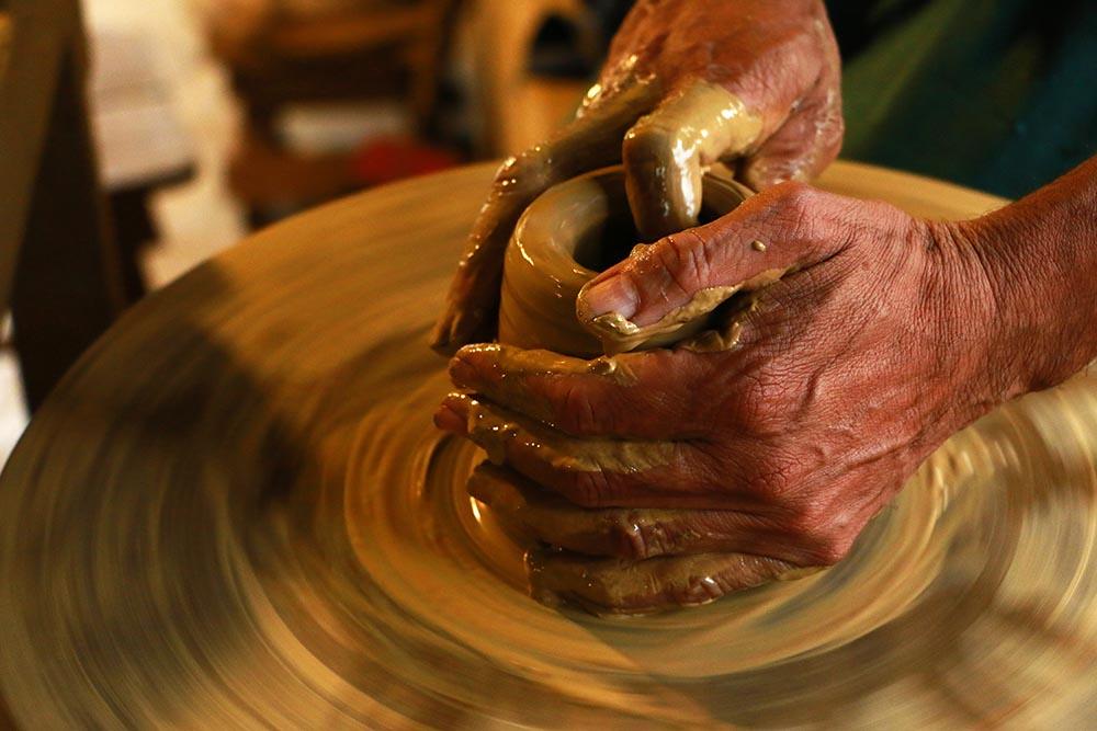 ワークショップ(陶芸)のイメージ